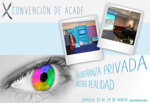 Acade Sevilla - Escuelas Infantiles y Colegios en nuestro Stand de la convención