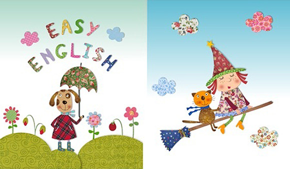 Ilustraciones de cuentos en inglés